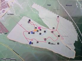 Mapa de Uso Público del Parque de las Canteras