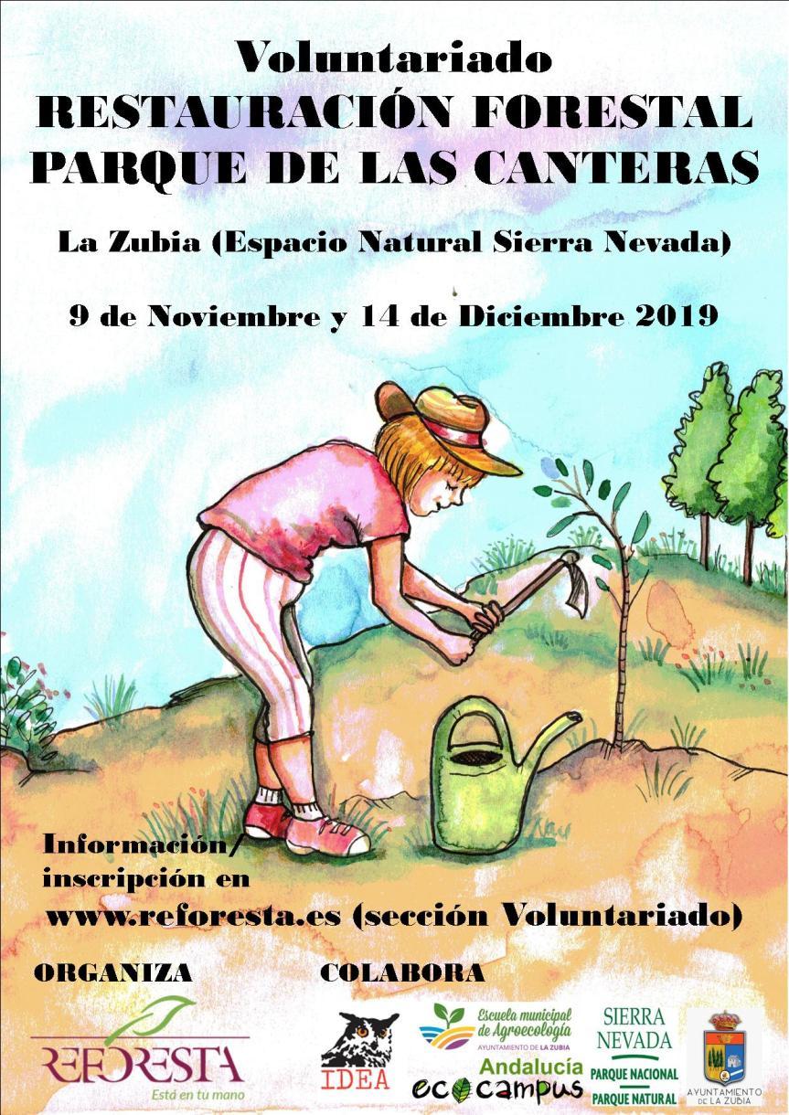 Restauración Forestal Parque Canteras Otoño 2019